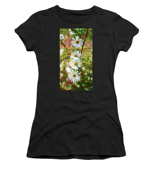 Frost Aster Women's T-Shirt (Athletic Fit)