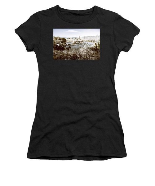 Frost Covered River Women's T-Shirt