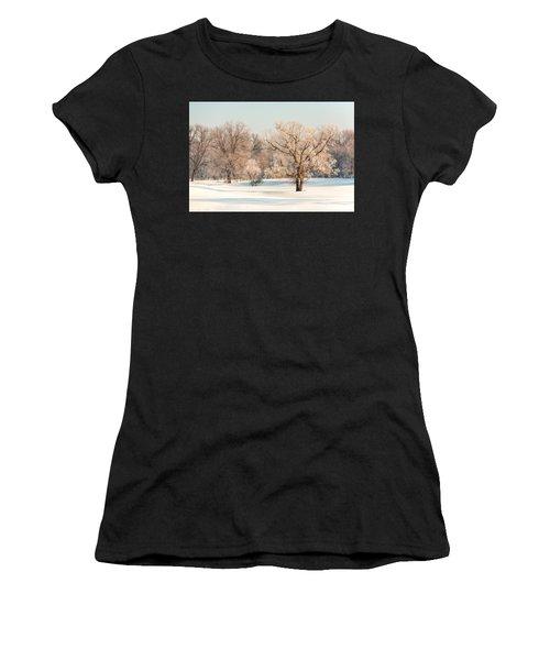 Frosty Forest Women's T-Shirt