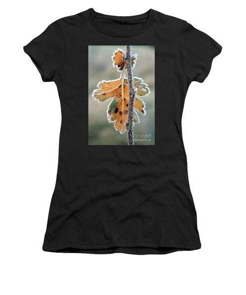 Frosty Leaf Women's T-Shirt