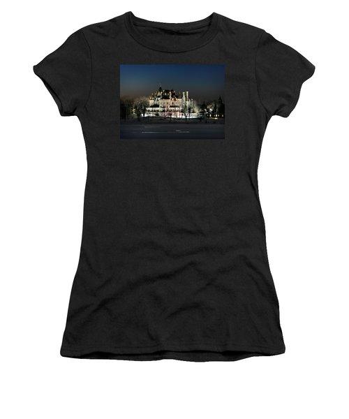 Frozen Boldt Castle Women's T-Shirt (Athletic Fit)