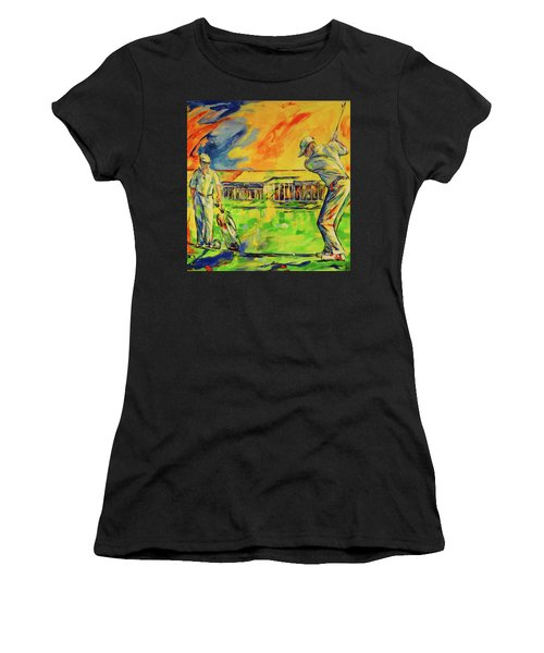 Fruehen Morgen Spiel   Early Morming Game Women's T-Shirt (Athletic Fit)