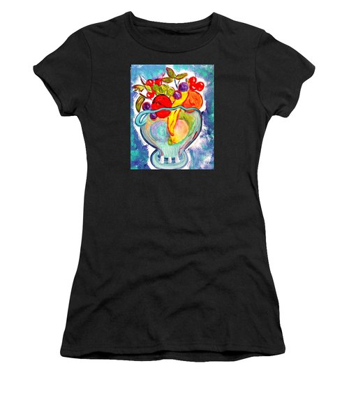 Fruit Bowl Women's T-Shirt (Athletic Fit)