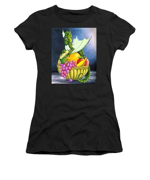 Fruit Dragon Women's T-Shirt (Athletic Fit)