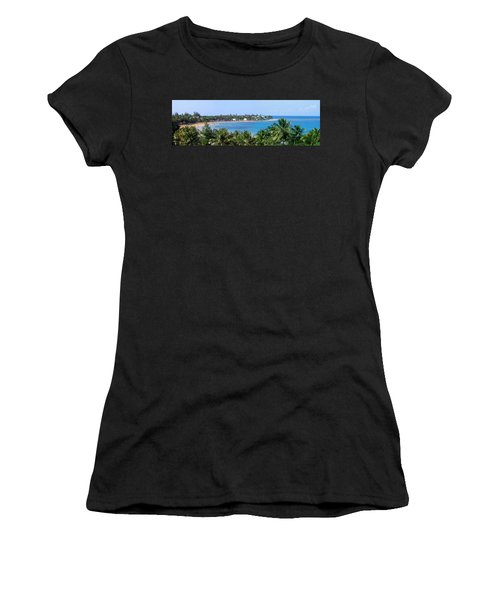 Full Beach View Women's T-Shirt (Junior Cut) by Suhas Tavkar