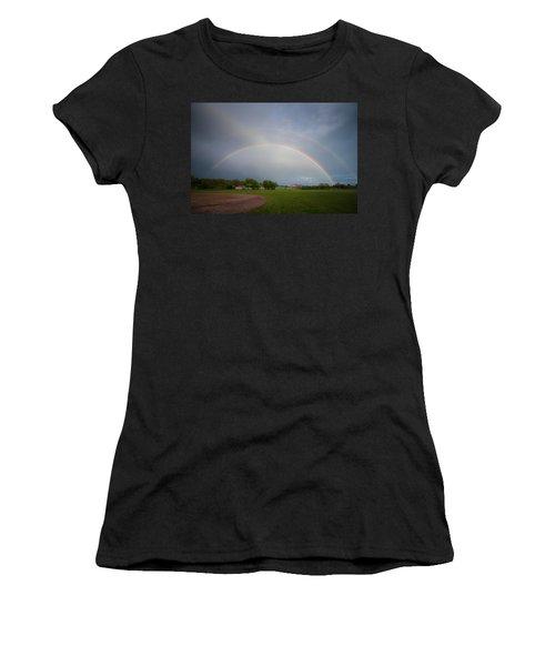 Full Double Rainbow Women's T-Shirt