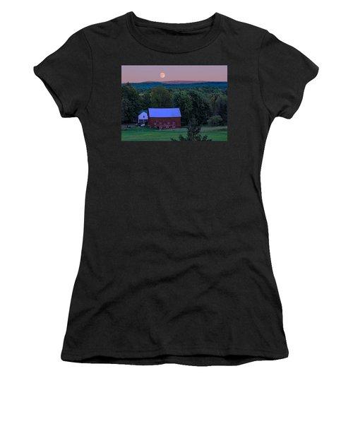 Full Moon From High Street Women's T-Shirt