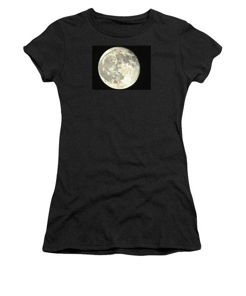 Full Moon Love Women's T-Shirt (Junior Cut) by Nikki McInnes