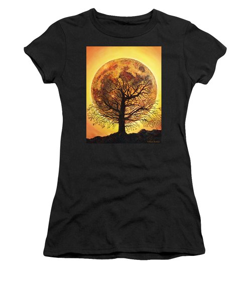 Full Moonrise. Women's T-Shirt