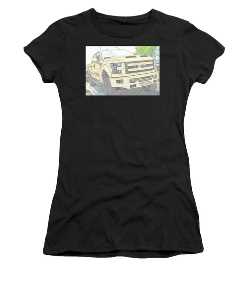 Full Sized Toy Truck Women's T-Shirt