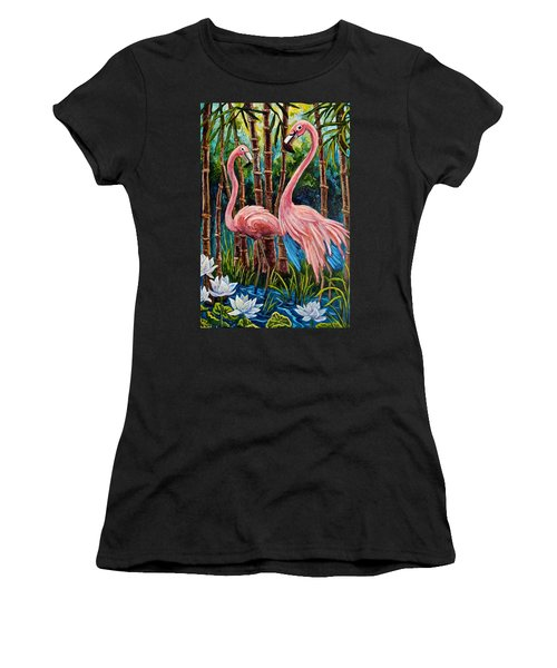 Fun Flamingos Women's T-Shirt