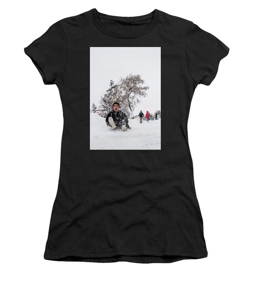 Fun On Snow-2 Women's T-Shirt