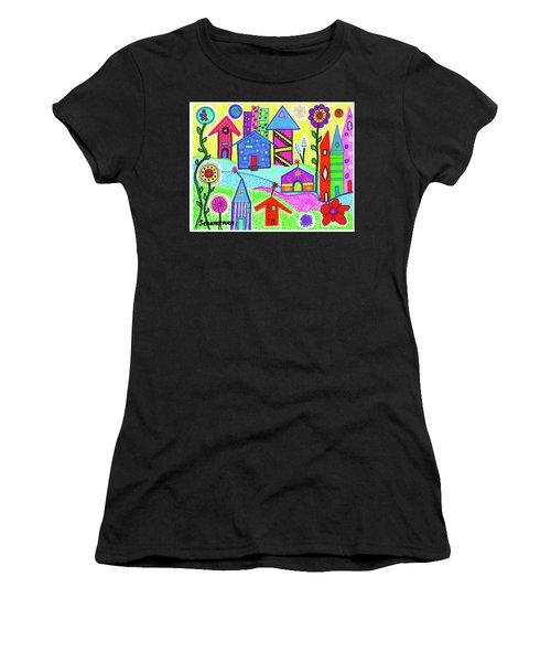 Funky Town 3 Women's T-Shirt