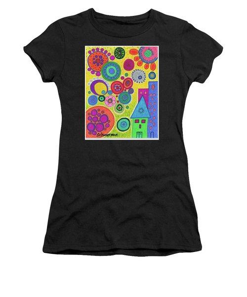 Funky Universe Women's T-Shirt