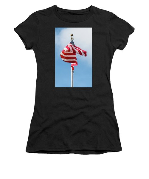 Furled In The Wind Women's T-Shirt