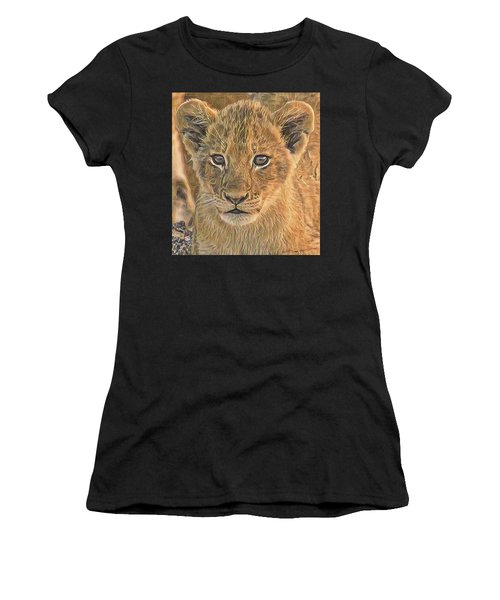 Fuzzy Cubby Women's T-Shirt (Athletic Fit)