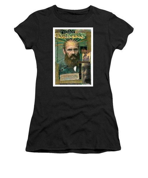 Fyodor Dostoevsky Women's T-Shirt (Athletic Fit)