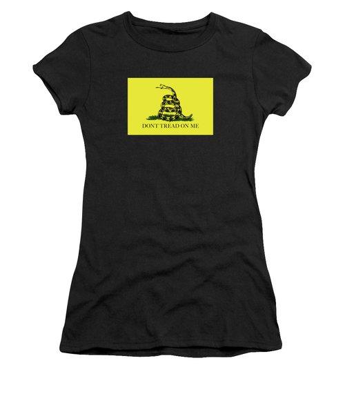 Gadsden Dont Tread On Me Flag Authentic Version Women's T-Shirt
