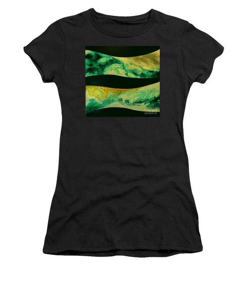Gaia Nocturne Women's T-Shirt (Athletic Fit)