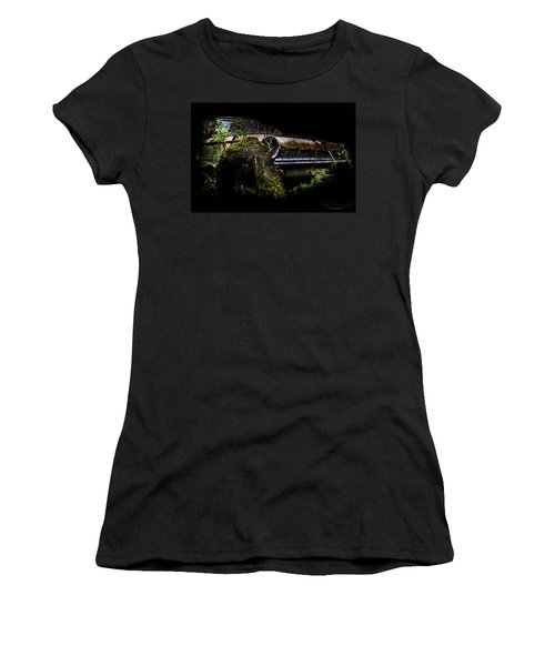 Women's T-Shirt featuring the photograph Galaxie Tree Bromance by Glenda Wright