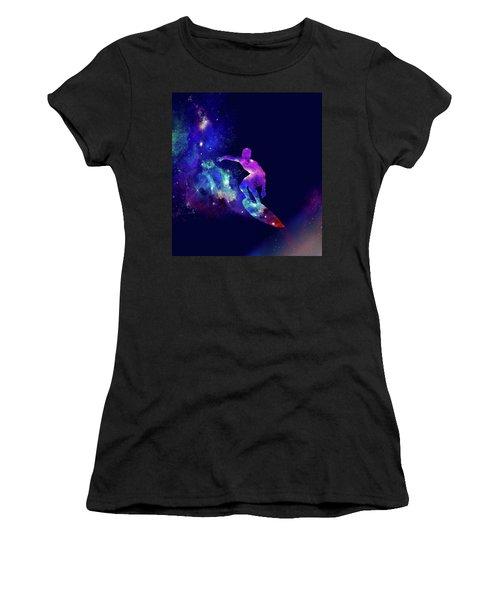 Galaxy Surfer 2 Women's T-Shirt