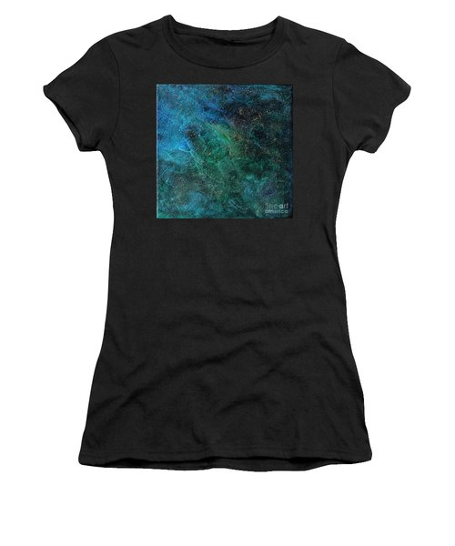 Galaxy Women's T-Shirt (Athletic Fit)