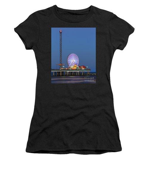 Galveston Pier  Women's T-Shirt