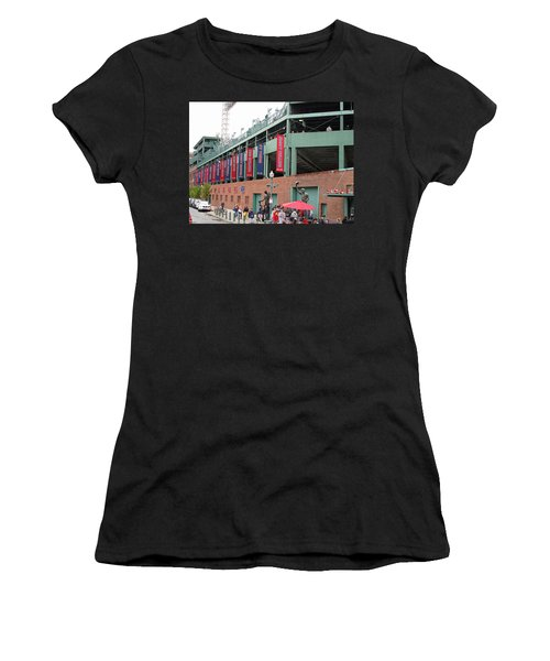 Game Day Women's T-Shirt (Junior Cut) by Barbara McDevitt