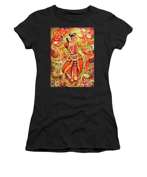 Ganges Flower Women's T-Shirt (Athletic Fit)