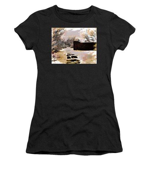 Garden Art Print  Women's T-Shirt