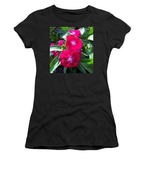 Women's T-Shirt (Junior Cut) featuring the photograph Garden Delight by Sandi OReilly
