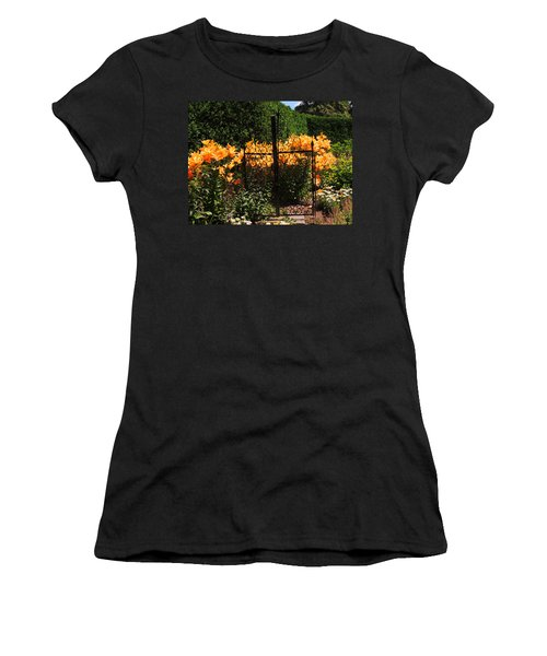 Garden Gate Women's T-Shirt (Athletic Fit)