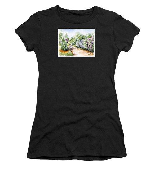 Garden Lilacs Women's T-Shirt