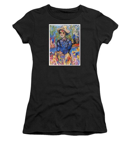 garden moment II Women's T-Shirt (Athletic Fit)