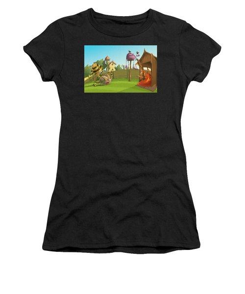 Garden Monsters Women's T-Shirt