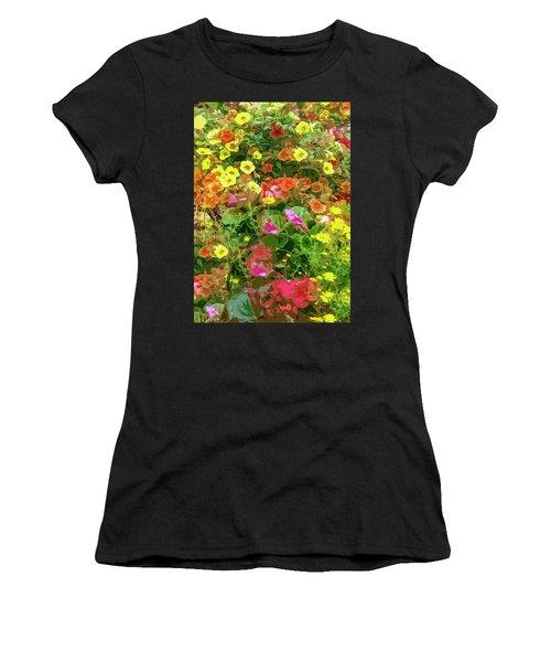 Garden Of Color Women's T-Shirt (Athletic Fit)