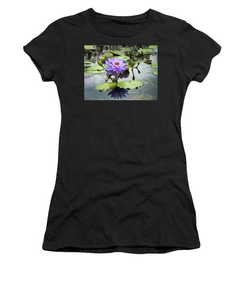Garden Reflaections Women's T-Shirt (Athletic Fit)