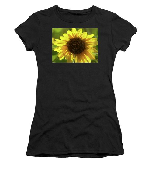 Women's T-Shirt featuring the photograph Garden Sunshine by Cris Fulton