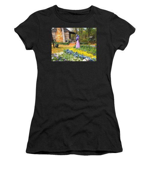 Garden Walk Women's T-Shirt (Athletic Fit)