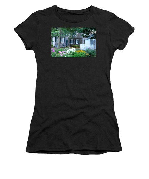Gardens At The Burton-ingram House - Lewes Delaware Women's T-Shirt (Athletic Fit)