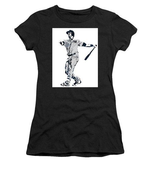 Gary Sanchez New York Yankees Pixel Art 1 Women's T-Shirt