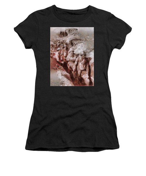 Gas Attack Wwi  Women's T-Shirt