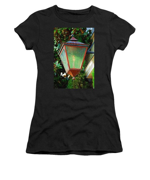 Gas Lantern Women's T-Shirt (Junior Cut) by Donna Bentley