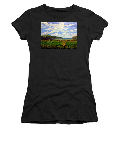 Gaspe's Grand Serenousphere Women's T-Shirt (Athletic Fit)