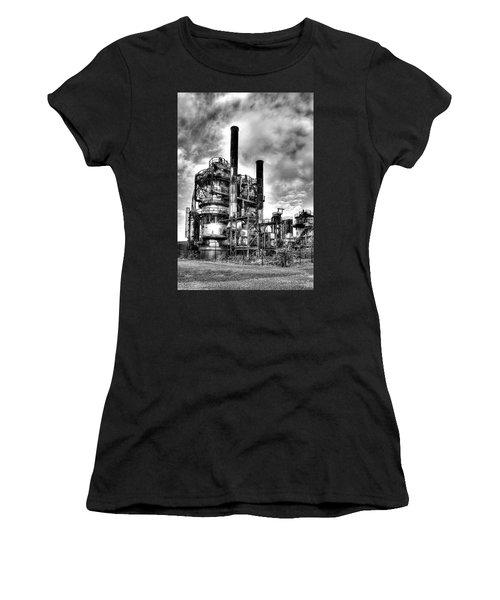 Gasworks Park, Seattle, Wa Women's T-Shirt (Athletic Fit)