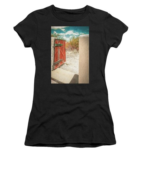 Gate To Oracle Women's T-Shirt (Athletic Fit)