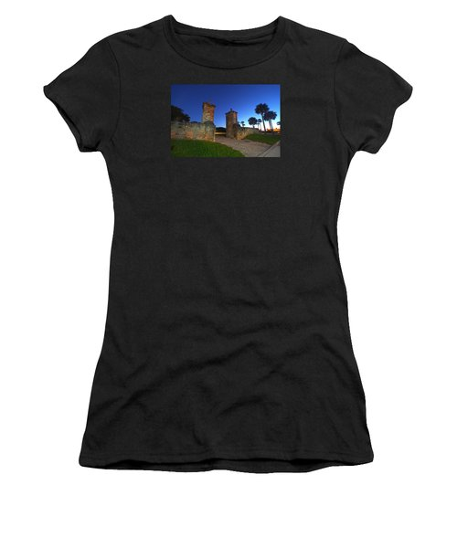 Gates Of The City Women's T-Shirt (Athletic Fit)