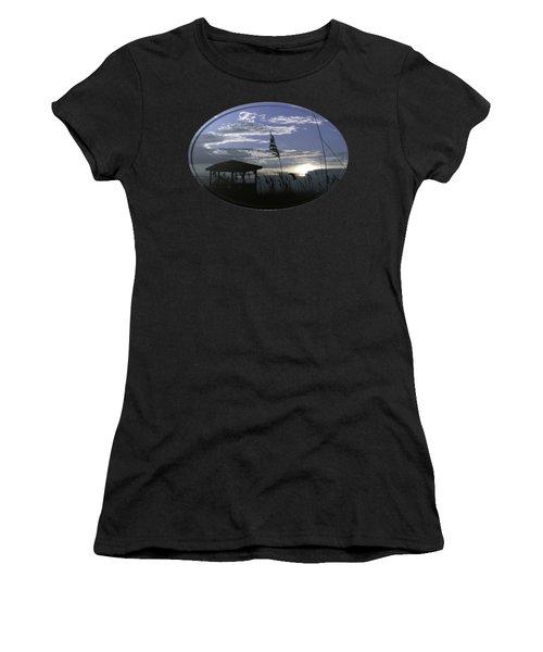 Gazebo In The Dunes Women's T-Shirt