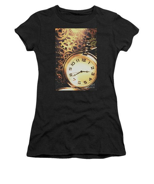 Gears Of Time Travel Women's T-Shirt