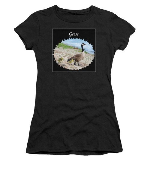Geese In The Clouds Women's T-Shirt